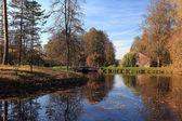 Autumn in village — Stock Photo