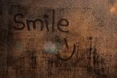 Inscription smile — Foto de Stock