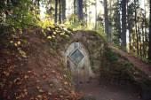 Hobbit house grotto — Foto Stock