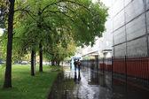 Autumn in city — Stock Photo