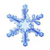Snowflake crystal — Stock Photo