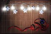 Christmas decorative background — Stock Photo