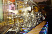 Tableware in restaurant — Stock Photo