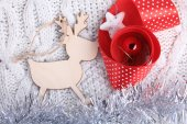 Christmas raindeer — Stock Photo