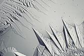 Monochrome texture of ice, frost — Stock fotografie