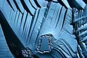 Blue ice  texture  background — Stock Photo
