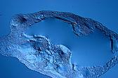 Sfondo texture blu ghiaccio — Foto Stock