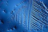 Blaues Eis Textur Hintergrund — Stockfoto