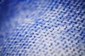 Blue micro fiber texture — Stock Photo