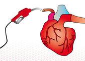 心脏系统 — 图库矢量图片