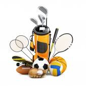 Sport equipment  collection — Stock Photo