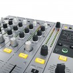DJ Mixer controls — Stock Photo #72240993