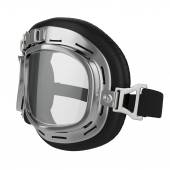 Leather race goggles — Stock Photo