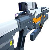 Futuristic weapon — Stock Photo