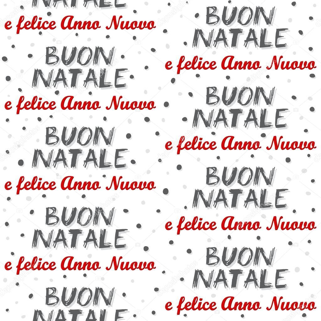 frohe weihnachten und happy new year in italienisch bunte. Black Bedroom Furniture Sets. Home Design Ideas