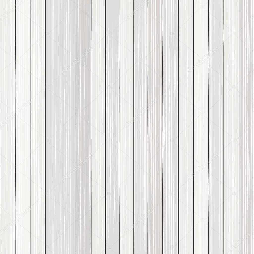 흰색 나무 바닥 세로 울타리 벡터 원활한 패턴 — 스톡 벡터 ...