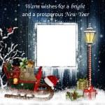 Christmas greeting card — Stock Photo #61058153