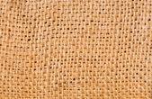 Texture de tissu de toile de jute — Photo