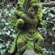 Closeup of traditional Balinese God statue — Stock Photo #65709859