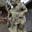 Closeup of traditional Balinese God statue  — Stock Photo #65718321