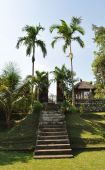 Taman ayun temple, bali, indonesia — Stock Photo