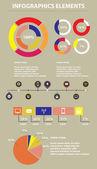 Infographics Elements. Vector Illustration. EPS10. — Stock Vector