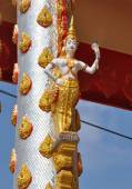 Church of Thai temple in central part of Thailand — Stock Photo