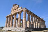 Paestum ruins near naples, italy. — Stock Photo