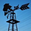 Windmill and Power Lines — Stock Photo #62742463