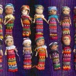 Постер, плакат: Guatemalan Worry Dolls Background