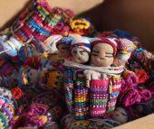 Guatemalan Worry Dolls — Stock Photo