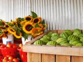 Country Produce Stand — Stock Photo