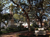 Wright Square Savannah Georgia — 图库照片