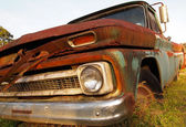 Rusting Vintage Truck — Stock Photo