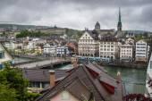 View of a city Zurich, Switzerland — Stock Photo