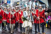Traditional spring parade of Guilds in Zurich — Stock Photo