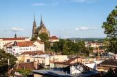 St, Peter and Paul cathedral in Brno — Stock Photo