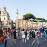 Famous Italian monument Vittorio Emanuele II in Rome — Stock Photo #58460783