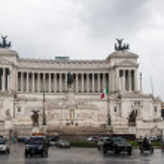 Famous Italian monument Vittorio Emanuele II in Rome — Stock Photo #58461565