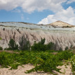 Unusual landscape in Cappadocia — Stock Photo #58465349