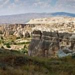 Unusual landscape in Cappadocia — Stock Photo #58465365