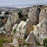 Unusual landscape in Cappadocia — Stock Photo #58465577