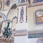 Interior of little Hagia Sofia mosque in Istanbul — Stock Photo #58465955