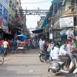 Traffic on a street in Old Delhi — Stock Photo #58466015