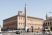 Egyptian Obelisk at Piazza San Giovanni — Stock Photo