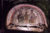 Catacombs of San Gennaro in Naples — Stock Photo