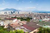 Skyline of Naples — Stock Photo