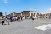 Ruins of ancient city Pompeii — Photo