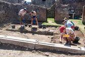 Rovine dell'antica Pompei di città — Foto Stock