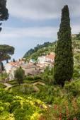 Garden of Villa Rufolo in Ravello village — Стоковое фото